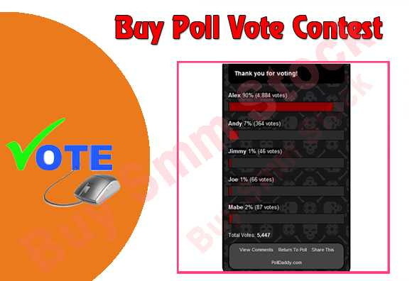 Buy Poll Vote Contest