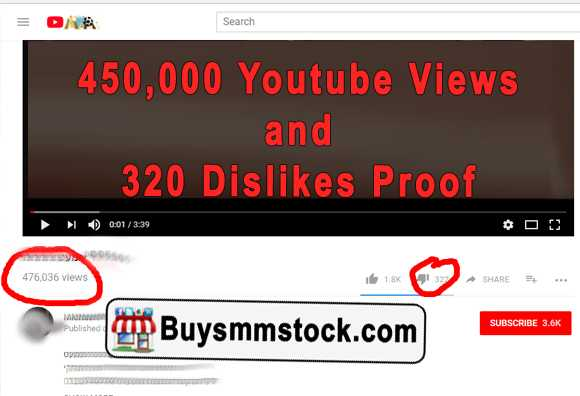 Real 450,000 Youtube Views