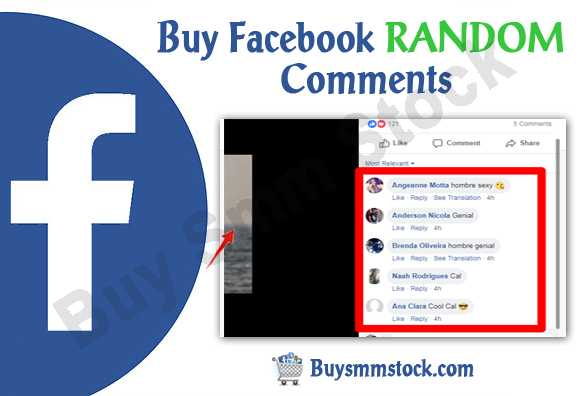 Buy Facebook RANDOM Comments