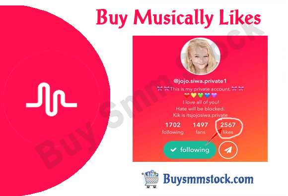 Buy Musically Likes