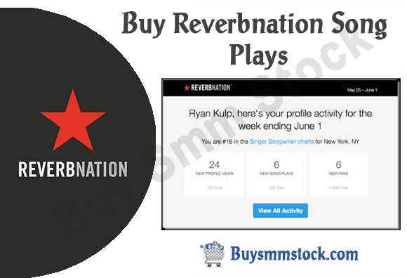 Buy Reverbnation Song Plays
