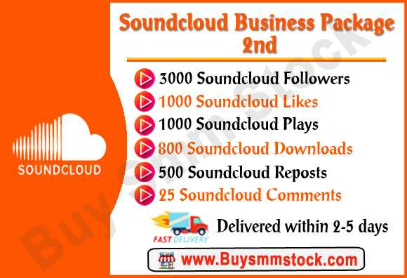 Buy Soundcloud Plays - Buy Smm Stock