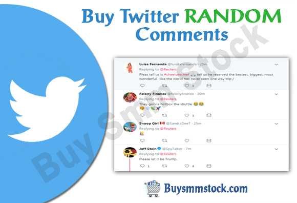 Buy Twitter RANDOM Comments