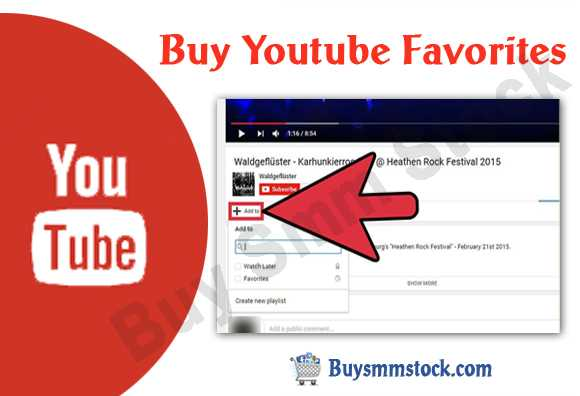 Buy Youtube Favorites