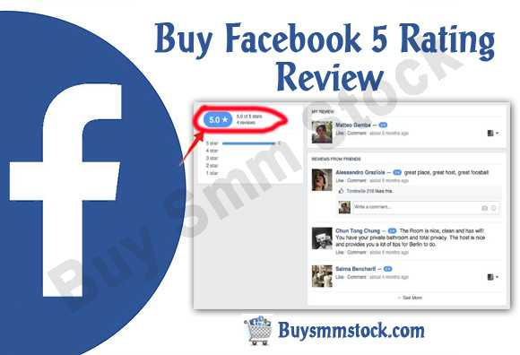 Facebook 5 Rating and Review